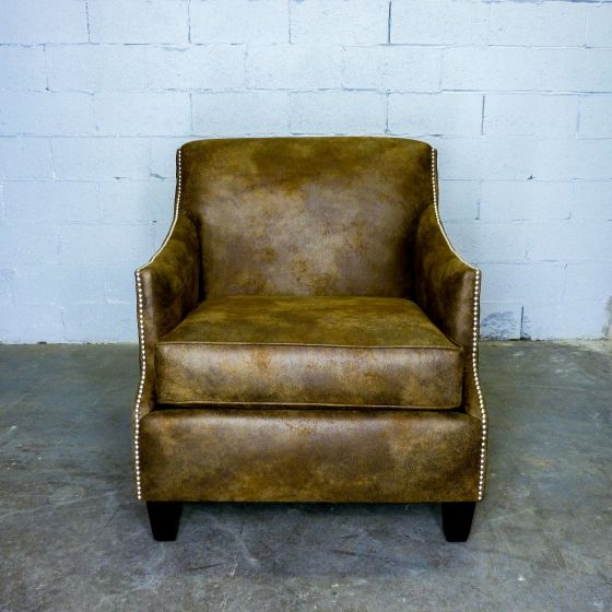 Dallas Leather Arm Chair