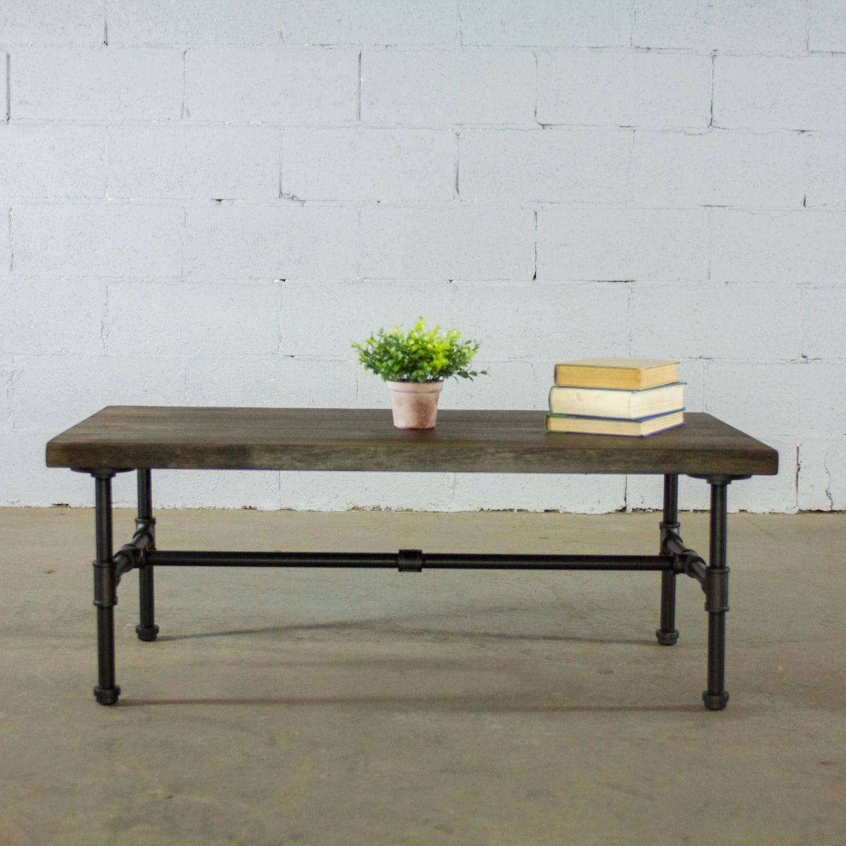 Industrial Mesh Coffee Table: Corvallis Industrial Chic Coffee Table