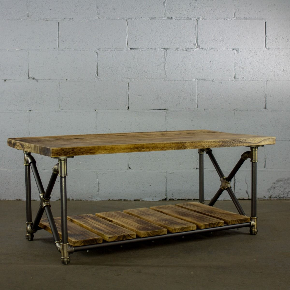 Amazing Houston Industrial Chic Coffee Table Lamtechconsult Wood Chair Design Ideas Lamtechconsultcom