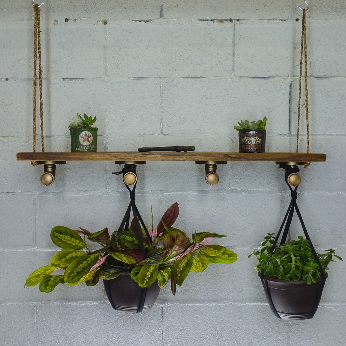 Chic Hanging Shelf Planter
