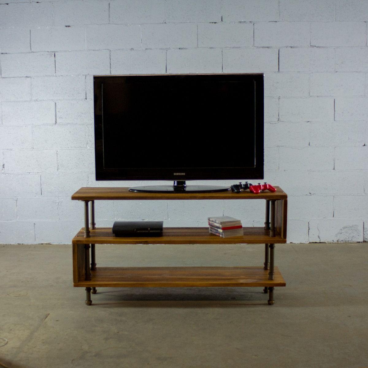Modern TV Stand Entertainment Center Console Media Home Theater Furniture Shelf